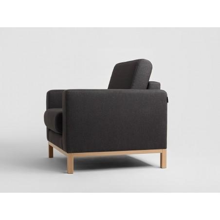 Fotelek, kanapék, lounge RM Scandic kényelmes design fotel, választható kárpittal
