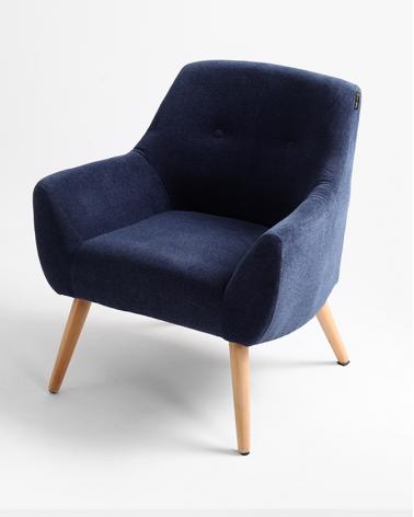 Fotelek RM Betty kényelmes fotel, választható kárpitozással, pácolással