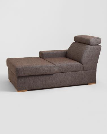 Fotelek, kanapék, lounge RM Atlantica Chaise pihenő - L, választható kárpittal