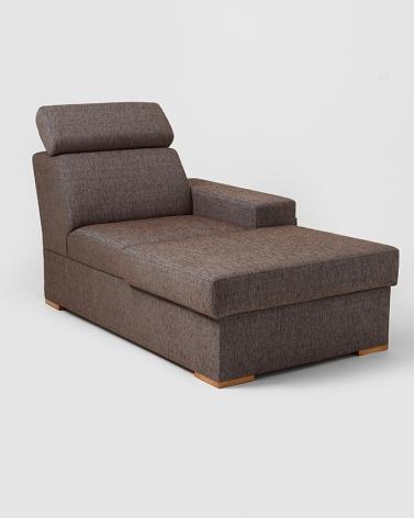 Fotelek, kanapék, lounge RM Atlantica Chaise pihenő - P, választható kárpittal