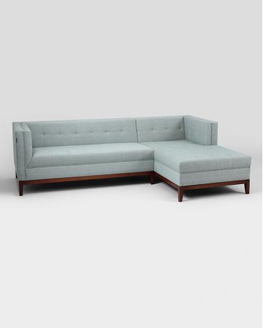 Fotelek, kanapék, lounge RM By-Tom sarokülő - P alakú, választható kárpittal