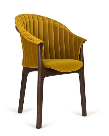 Szék PG Evo II. kényelmes éttermi szék választható kárpittal, pácolással