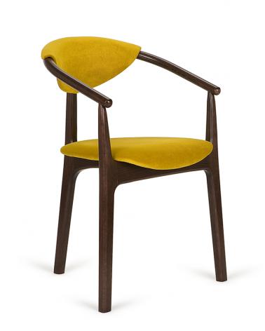 Szék PG Evo III. kényelmes éttermi szék választható kárpittal, pácolással