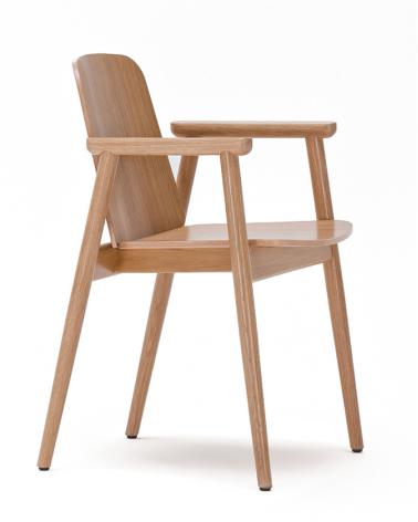 Szék PG Prop erős, kényelmes éttermi szék választható pácolással