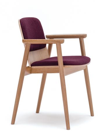 Szék PG Prop IV. kényelmes éttermi szék választható kárpittal, pácolással