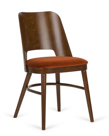 Szék PG Dalma, minőségi kárpitozott éttermi szék, választható pácolással és kárpitozással