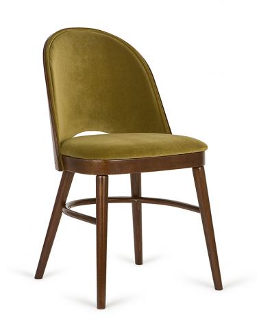 Szék PG Lara, minőségi kárpitozott éttermi szék, választható pácolással és kárpitozással