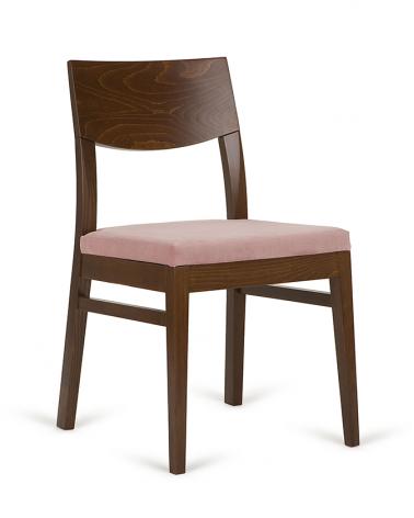 Szék PG Frank, minőségi kárpitozott éttermi szék, választható pácolással és kárpitozással