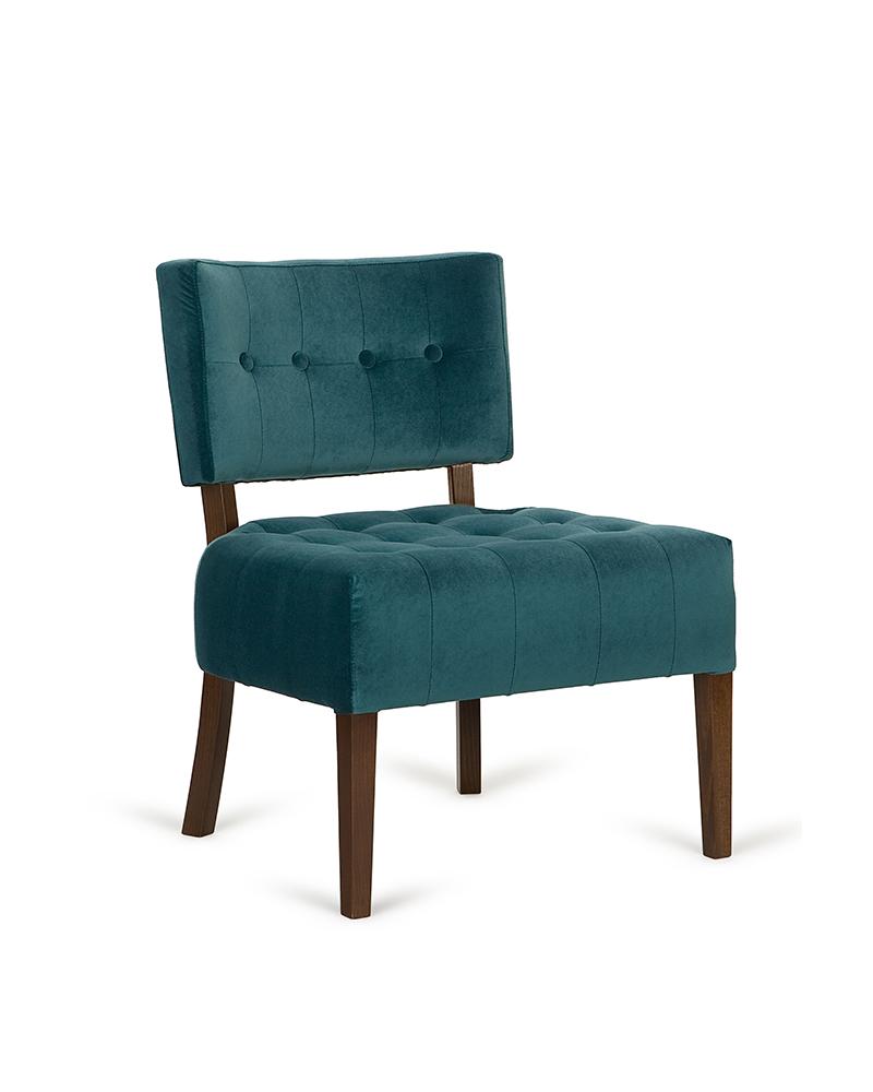 PG Vouge, minőségi kárpitozott lounge fotel, választható pácolással és kárpitozással