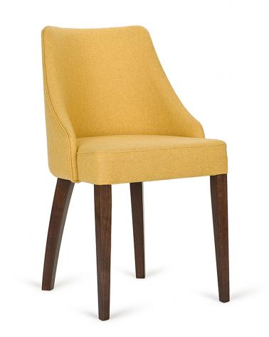 Szék PG London I. Éttermi kárpitozott szék, választható pácolással és kárpitozással