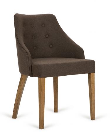 Szék PG London II. Éttermi kárpitozott szék, választható pácolással és kárpitozással