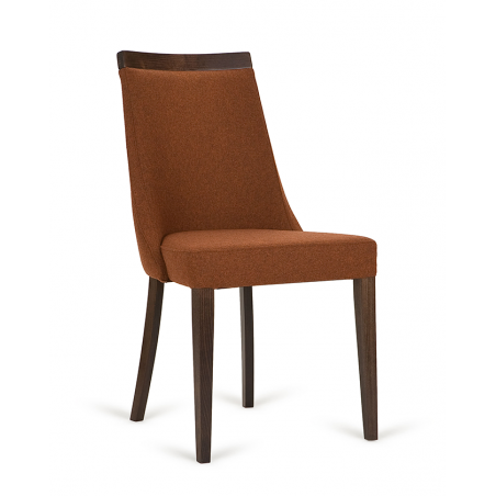 Szék PG Swing, Vendéglátóipari erős, minőségi kárpitozott design szék, választható pácolással és kárpitozással