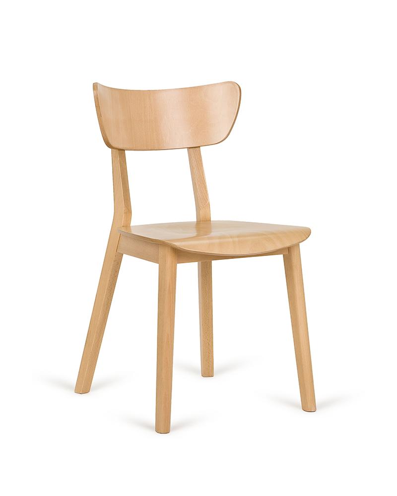 Szék PG Lof VI. Erős, minőségi éttermi fa szék, választható pácolással