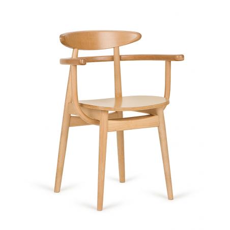 Szék PG Yes II. éttermi fa szék, választható pácolással, kárpitozással