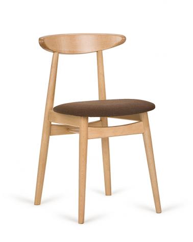 Szék PG Yes III. éttermi fa szék, választható pácolássa, kárpitozással
