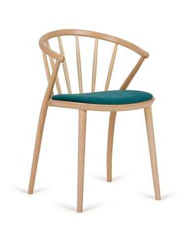 Szék PG Sudoku Erős, minőségi éttermi fa szék, választható pácolással, kárpitozással