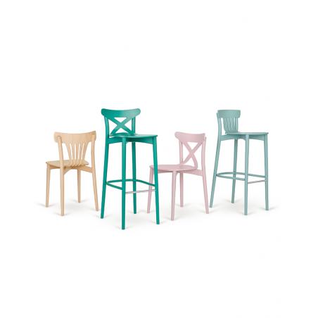 Szék PG Corte II. Erős, minőségi éttermi fa szék, választható pácolással