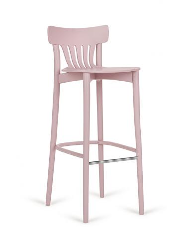 Fa bárszék PG Corte II. Erős, minőségi éttermi fa bárszék, választható pácolással, kárpitozással