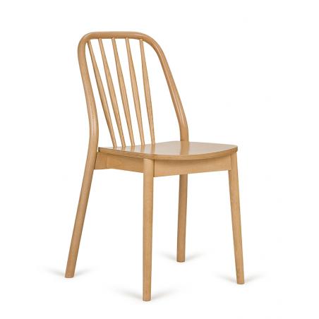 Szék PG Aldo Erős, minőségi éttermi fa szék, választható pácolással