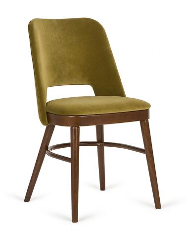 Szék PG Artur, minőségi kárpitozott éttermi szék, választható pácolással és kárpitozással