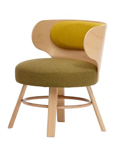 Beltéri bútorok PG K2 minőségi kárpitozott fa szék