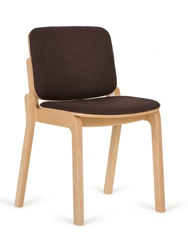 Szék PG HIP III. minőségi kárpitozott fa szék