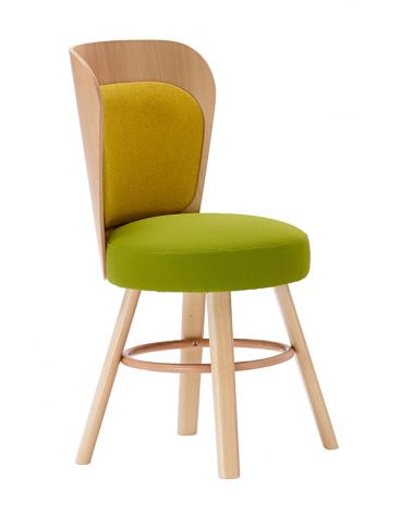 Szék PG K2 II. minőségi kárpitozott fa szék