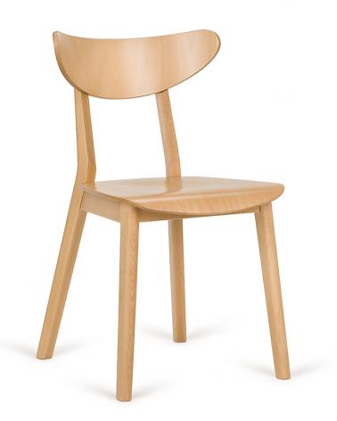 Szék PG Lof VII. Erős, minőségi éttermi fa szék, választható pácolással