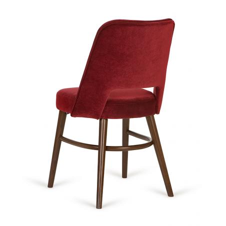Szék PG Tom, minőségi kárpitozott éttermi szék, választható pácolással és kárpitozással