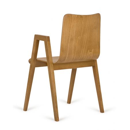 Szék PG Link II. minőségi fa szék, választható pácolással és kárpitozással