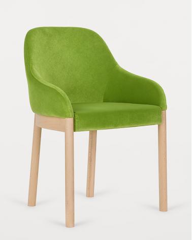 Szék PG Viena I. Erős, minőségi éttermi kárpitozott szék, választható pácolással és kárpitozással