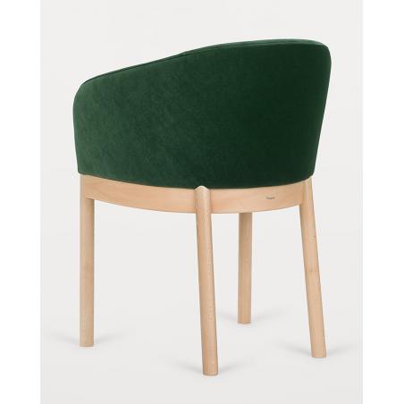 Szék PG Viena II. Erős, minőségi éttermi kárpitozott szék, választható pácolással és kárpitozással