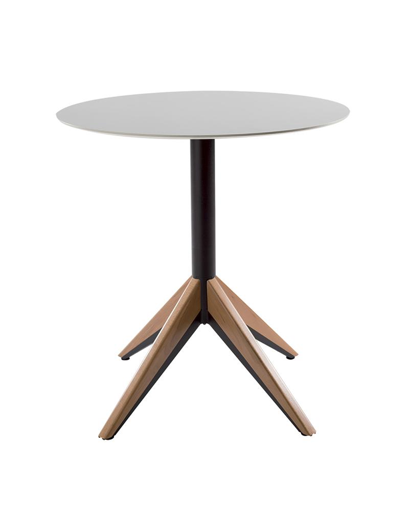 VE Battle wood éttermi modern asztalláb, asztalbázis