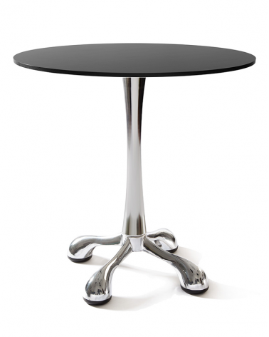 VE Spider krómozott éttermi modern asztalláb, asztalbázis