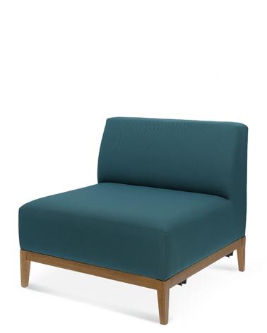Padrendszerek EG Snug fotelelem, éttermi padrendszer, választható színben