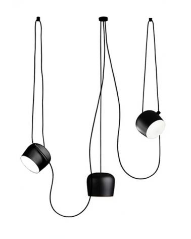 Függeszték KH Eye 3 fekete függeszték design lámpa