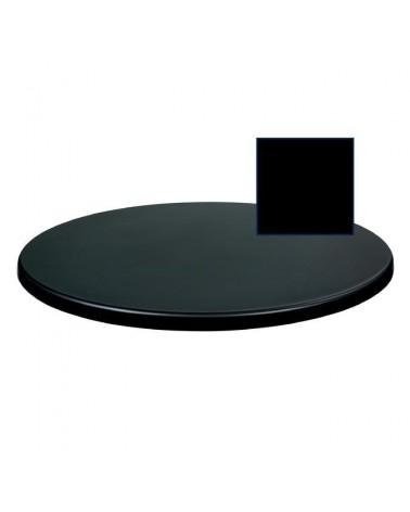 TO Fekete topalit asztallap