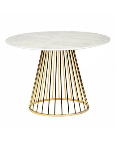 Étkezőasztalok KH Glam asztal D100 cm