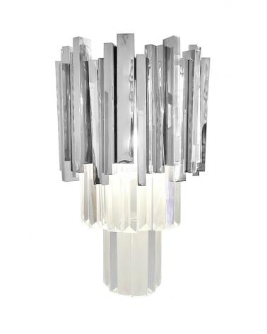 Kezdőlap KH Imperial Wall design fali lámpa ezüst -replika