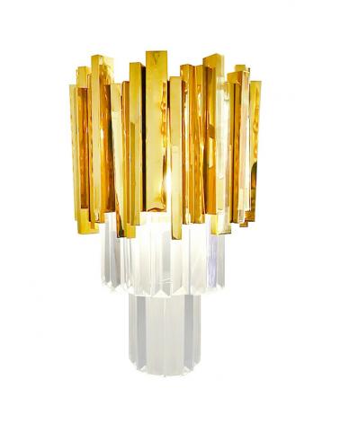 Kezdőlap KH Imperial Wall design fali lámpa arany színben -replika