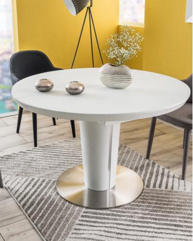 Étkezőasztalok LA Orbit III. 120(160)x120 bővíthető étkezőasztal