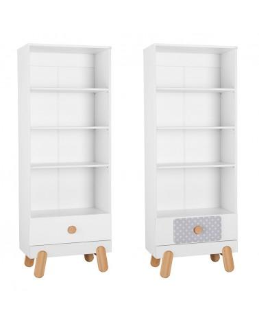 Könyvszekrény PI Iga könyves szekrény gyerekbútor