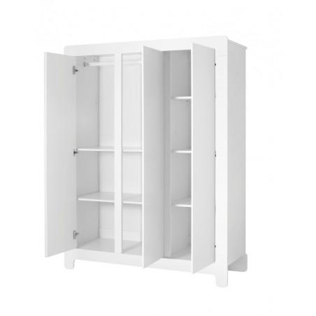 Ruhásszekrény, Gardrob PI Moon 3 ajtós ruhásszekrény gyerekbútor