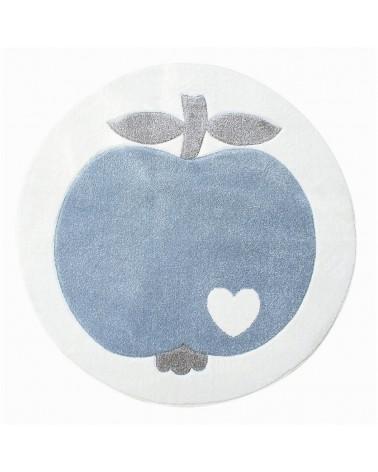 Gyerekszoba Szőnyegek LE Apple kör alakú minőségi gyerekszőnyeg 133 cm