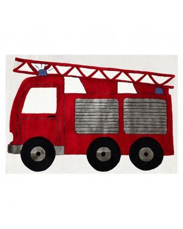 Gyerekszoba Szőnyegek LE Tűzoltós minőségi gyerekszőnyeg 120x180