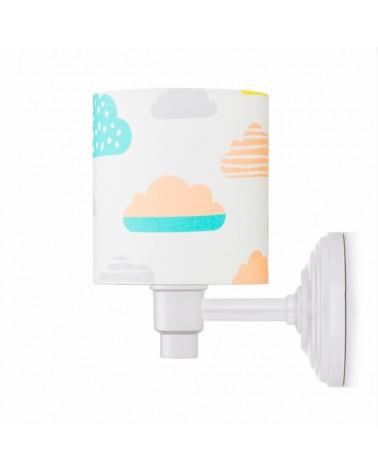 Fali lámpa LC Falilámpa pasztell felhők kollekció