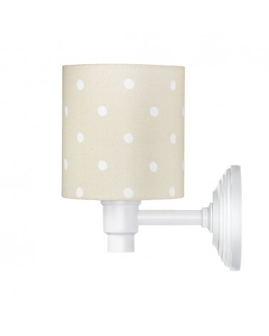 Fali lámpa LC Falilámpa bézs - pöttyös kollekció