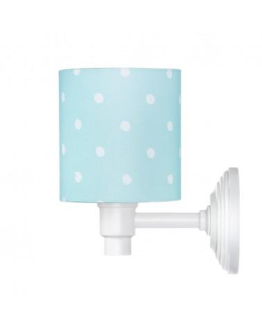 Fali lámpa LC Falilámpa kék - pöttyös kollekció