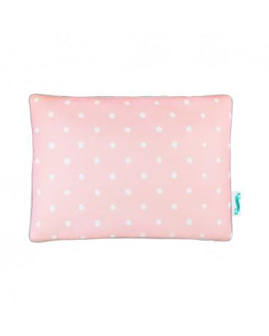 Párnák LC párna gyapjú takaróhoz rózsaszín pöttyös kollekció
