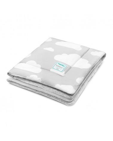 Takarók LC gyapjú takaró 80x100 cm szürke - felhős kollekció